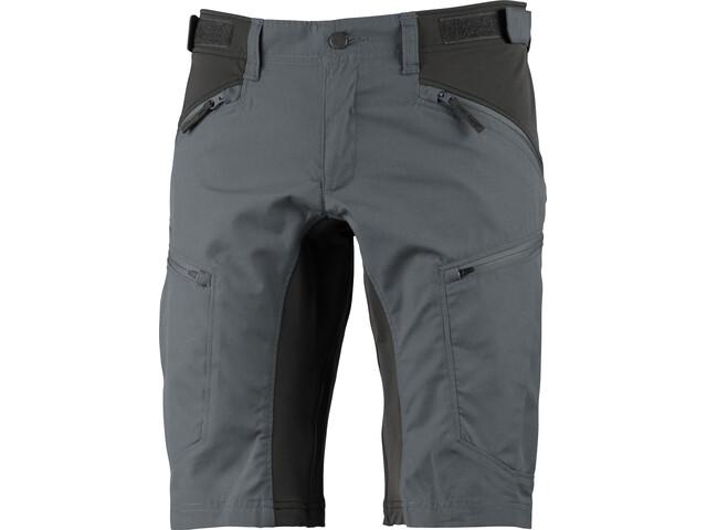 Lundhags Makke Pantalones cortos Hombre, granite/charcoal